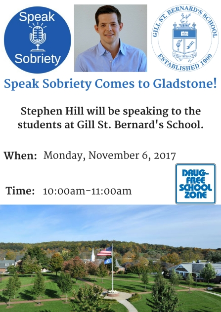 Speak Sobriety Comes to Gladstone! (1)