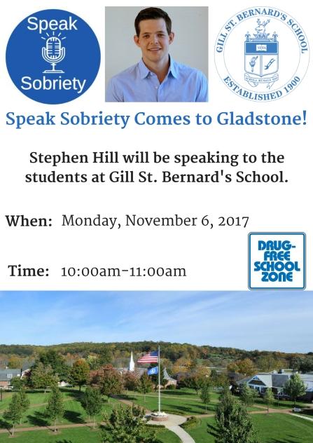 Speak Sobriety Comes to Gladstone! (1)